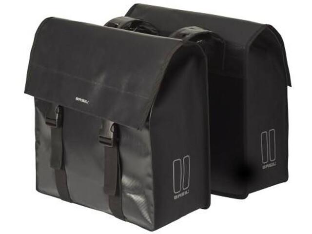 Basil Urban Load Double Pannier Bag 48-53l, black